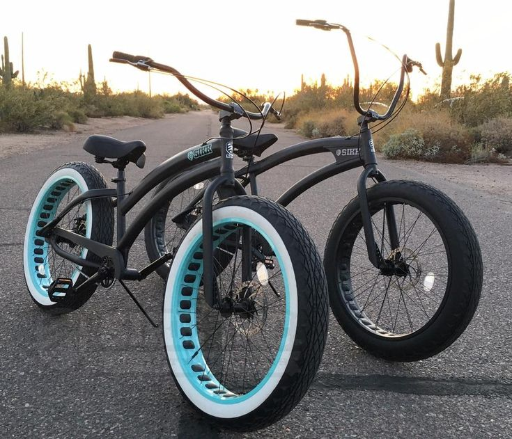 Sikk Quality Bicycles - Custom Beach Cruisers, Fat Tire Cruisers, Beach Cruiser Bike