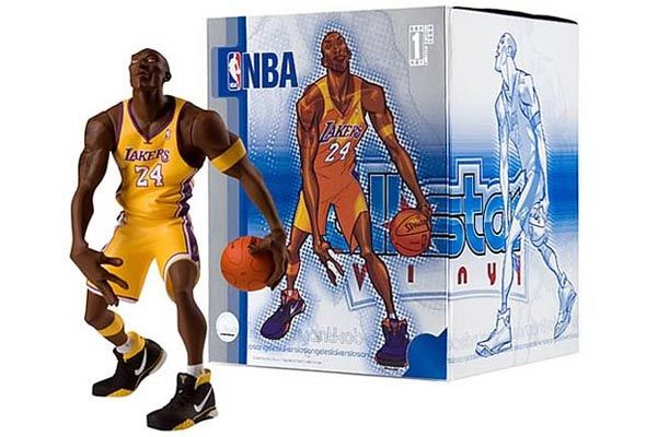 Outrageous NBA Gear: Kobe Bryant Goes Vinyl Action Figure