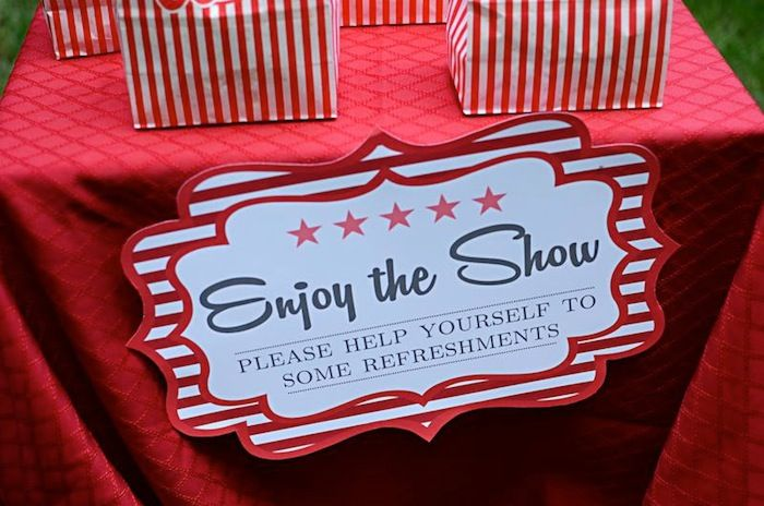 You're a Star Themed Talent Show Party with Lots of Really Cute Ideas via Kara's…