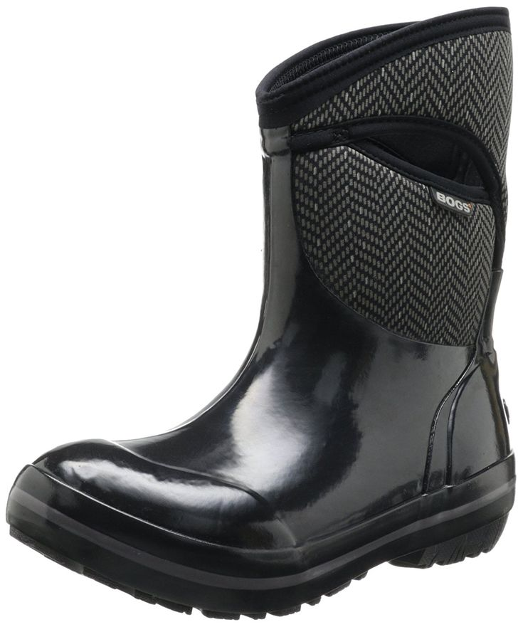 Bogs Women's Plimsoll Herringbone Mid Winter Snow Boot => Startling review available here  : Rain boots