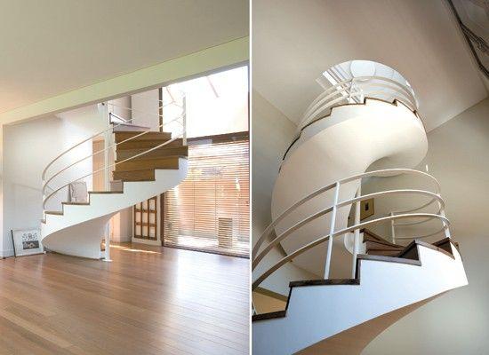 M s de 25 ideas incre bles sobre escaleras bonitas en for Construccion escaleras interiores