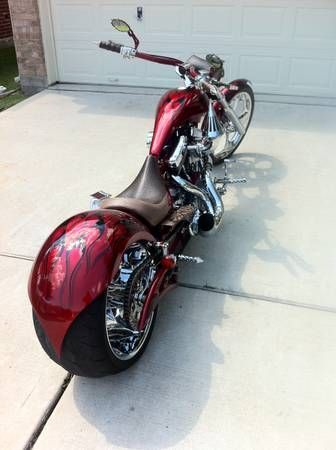 2006 Big Bear Choppers SLED 300 Chopper , Red, 24,000 miles for sale in Calabasas, CA