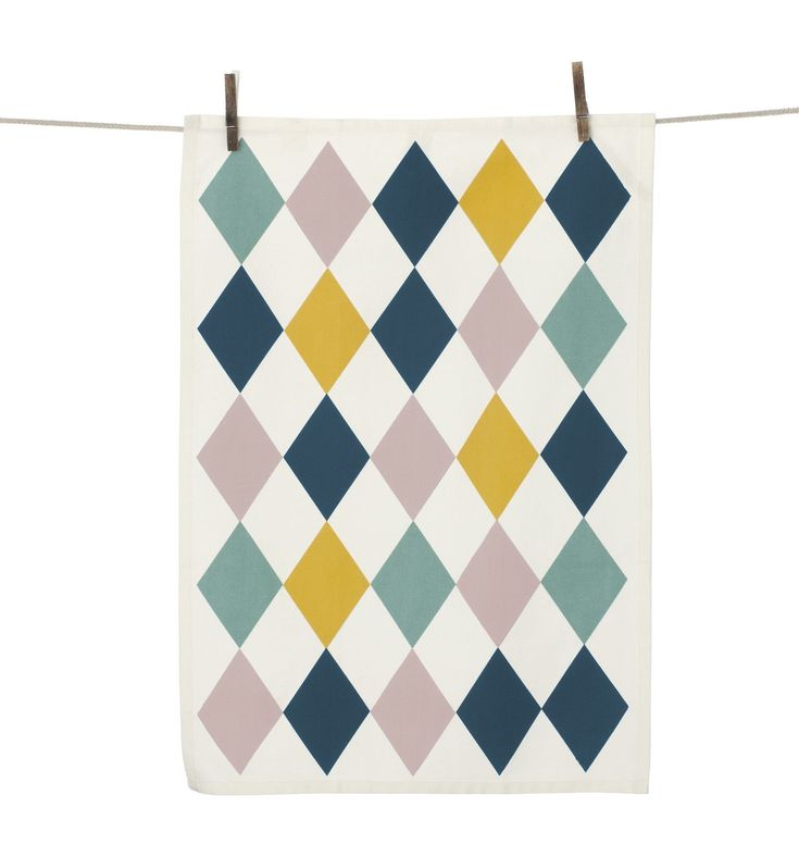 Harlequin - Tea towel