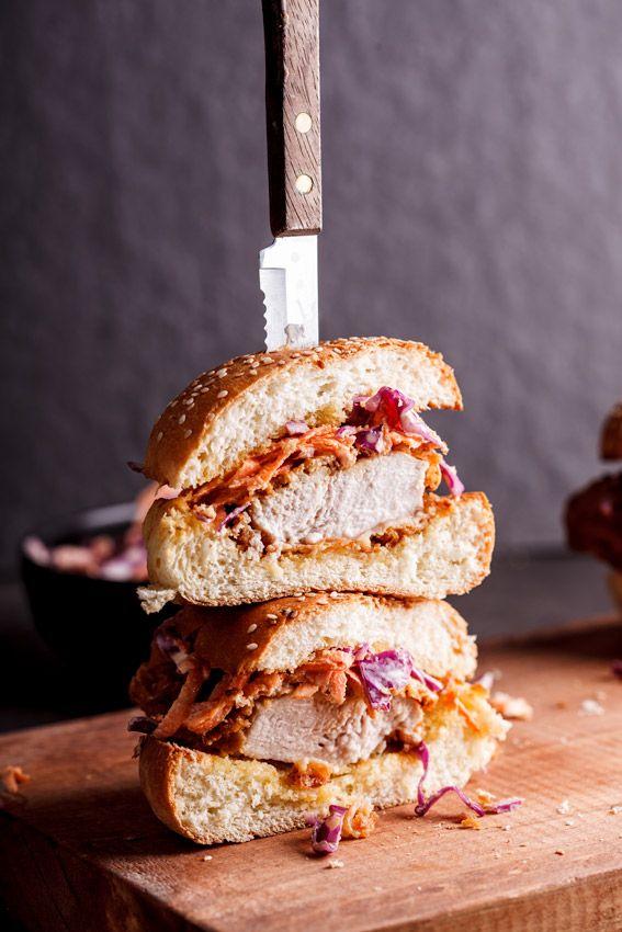 There's no better sandwich than one with fried chicken in it. Get the recipe from Simply Delicious Food.   - Delish.com