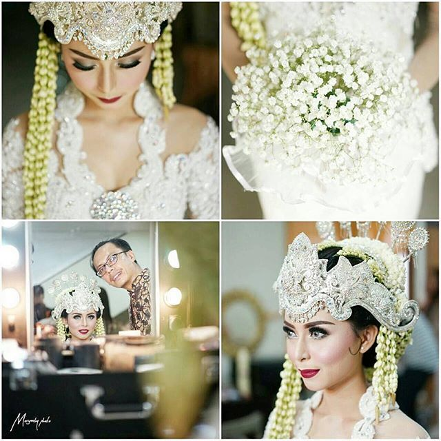 I always want to wear this sunda siger on my wedding day. And I made it! • • • #GIGAWEDDING