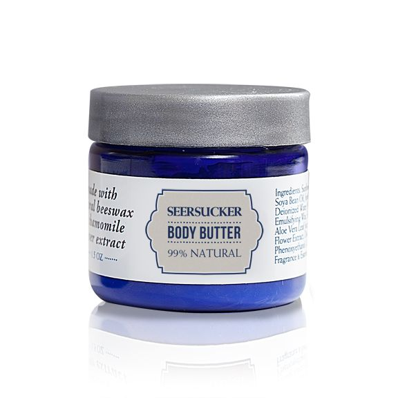 A clean cotton fragrance Body Butter soothes dry skin, naturally. Made with a combination of 78% fresh, organic ingredients.