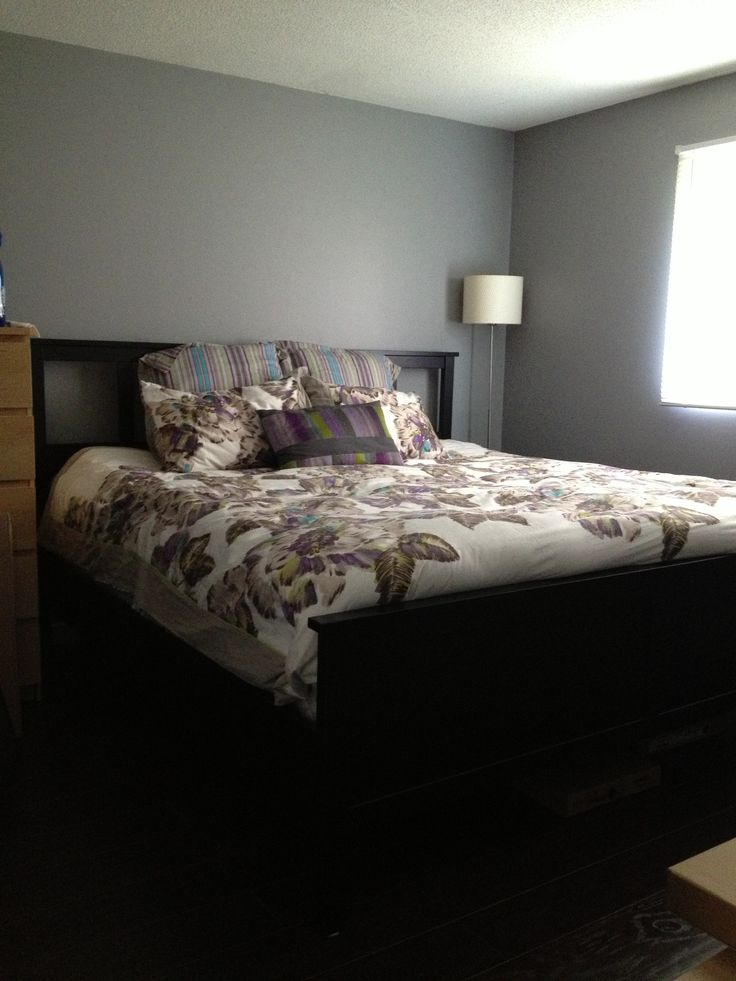 Master Bedroom Benjamin Moore AF 700  Ikea Hemnes Bed. 12 best hemnes bedroom ikea images on Pinterest   HEMNES  Above