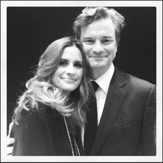 Livia and Colin Firth Cannes 2013