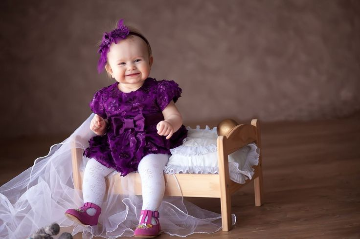 Girl Wearing Purple Dress Wallpaper Baby Products