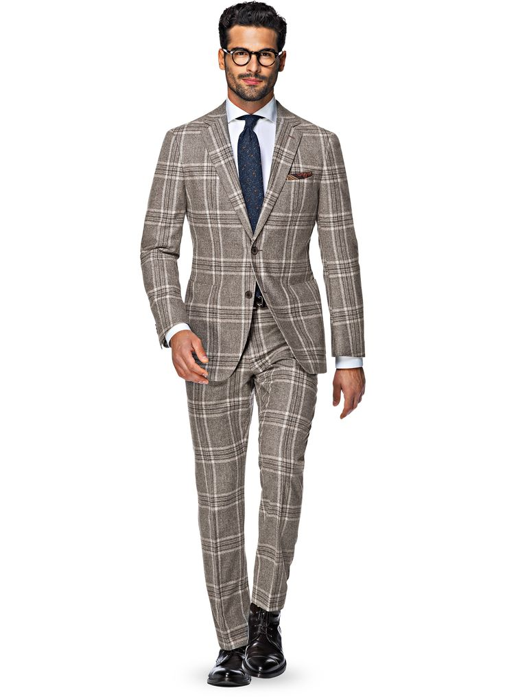 Suit_Brown_Check_Havana_P4745
