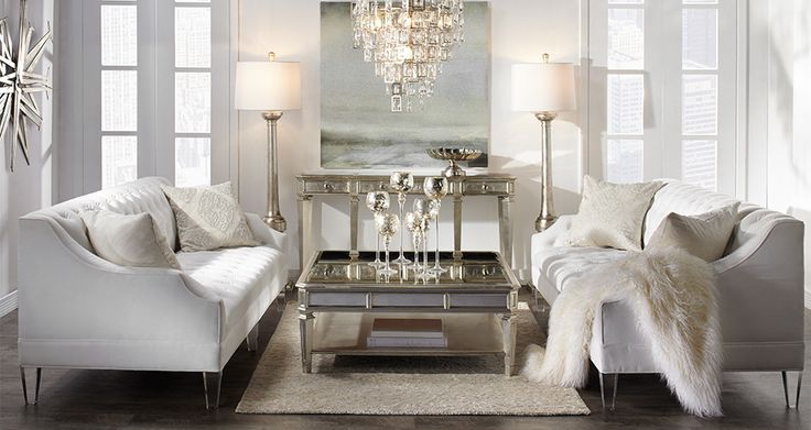 Simone Glamorous Living Room Inspiration