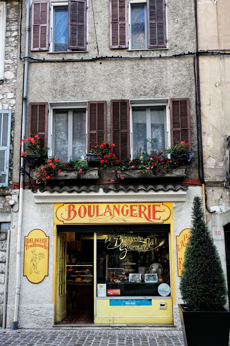 Vence Boulangerie France, Store fronts, Facade