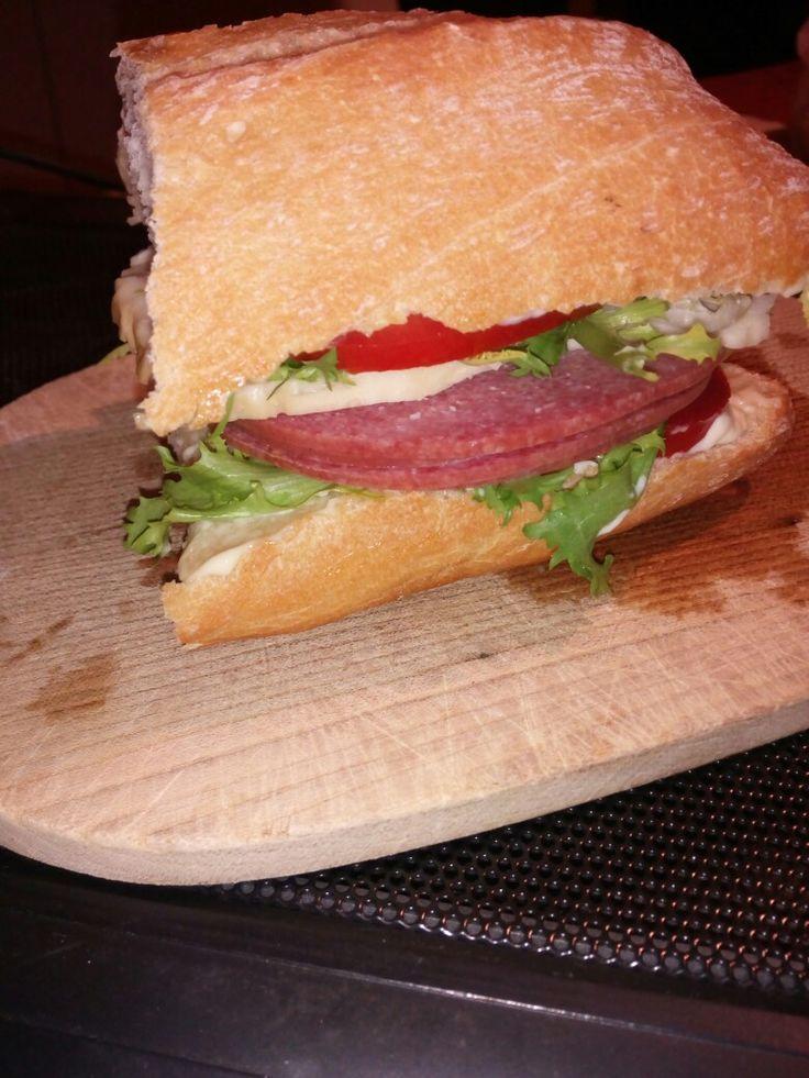 ...un favoloso panino;)