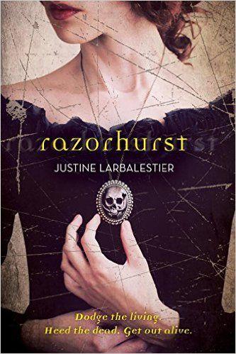 Razorhurst - Justine Larbalestier, pb redesign: