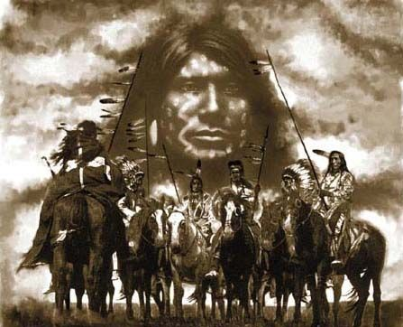 """Lakota Warrior Crazy Horse - Crazy Horse is known as one of the bravest warriors of his time. He entered each battle with the cry """"Today is a good day to die!"""", not as a death wish, but to show his absolute fearlessness in the face of peril"""