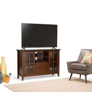 Shop for WYNDENHALL Stratford Tall TV Stand for TV's up to 60 Inches. Get free shipping at Overstock.com - Your Online Furniture Outlet Store! Get 5% in rewards with Club O! - 14254886