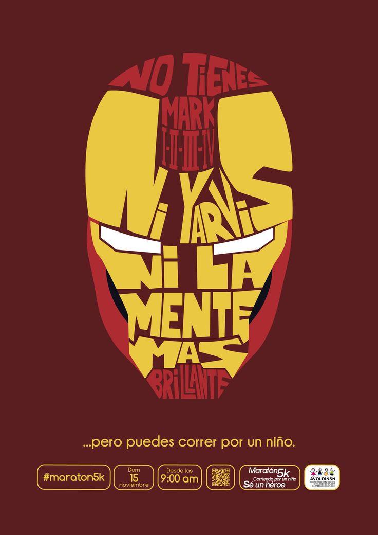 "Afiche ""Corriendo por un niño"" (Wilfredo Baraybar, Gabriela Ezcurra, Juan José Guerra, Jhonatan Prado)"