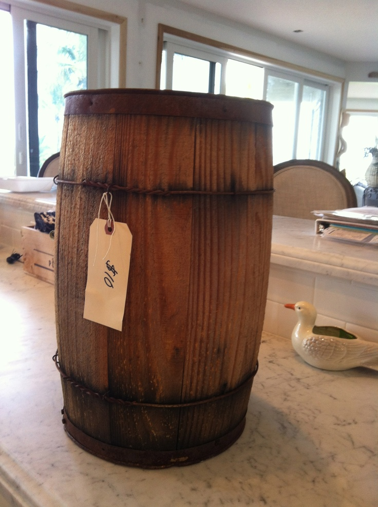 292 best images about buckets barrels milk cans water for Whiskey barrel bathtub