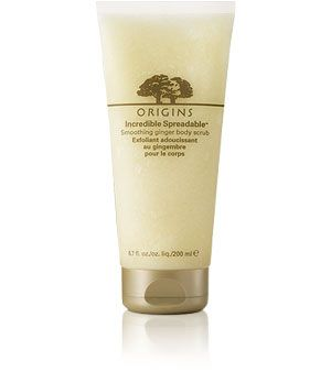 Incredible Spreadable™ Smoothing Ginger Body Scrub. Nice wakeful fragrance for a gentle exfoliating scrub.