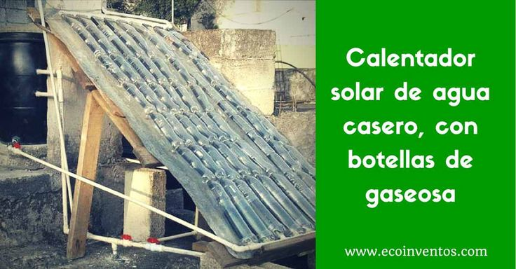 Llega a nuestras manos este manual gráfico de la web Autosuficiencia para fabricar nuestro propio calentador solar de agua casero, en unos sencillos pasos.