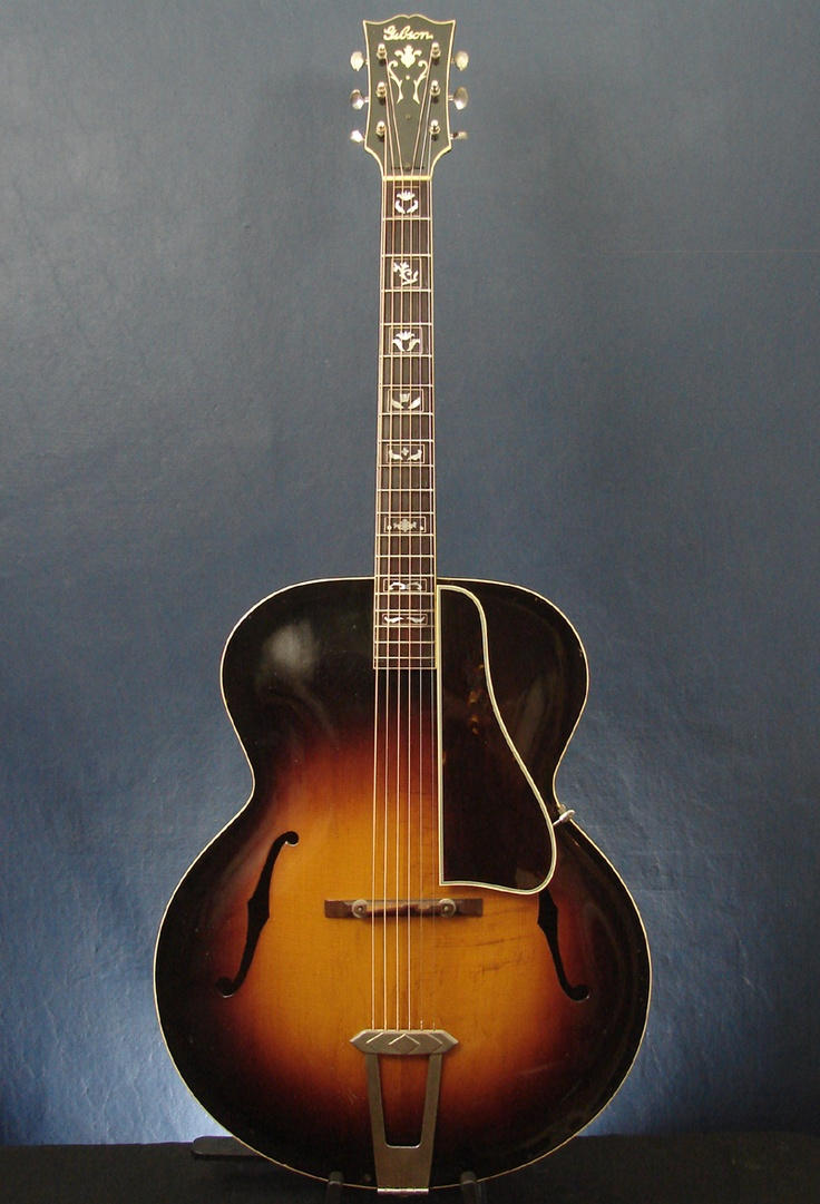1938 Gibson L 7 Vintage Archtop Hollowbody Jazz Guitar W