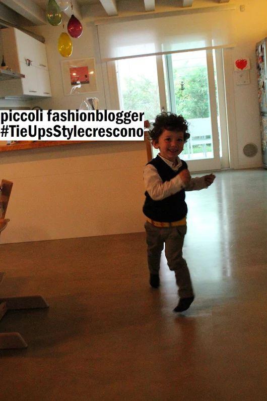 Piccoli #Fashionblogger crescono...:) linea KIDS https://www.tie-ups.it/shop/en/47-kids-belts