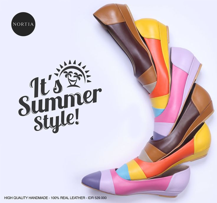 Summer style, brighten up your day! #woman #fashion #shoes #flat #comfort #localbrandid #jakarta #indonesia