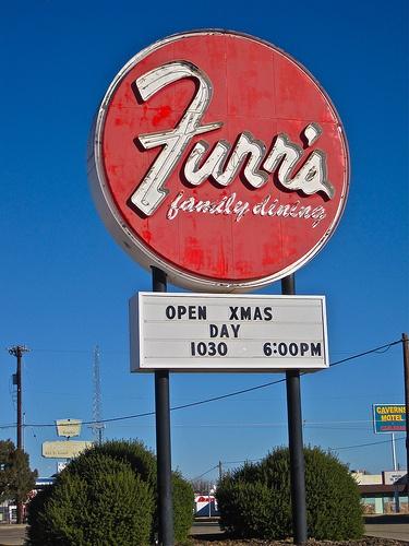 Vintage Furrs Cafeteria