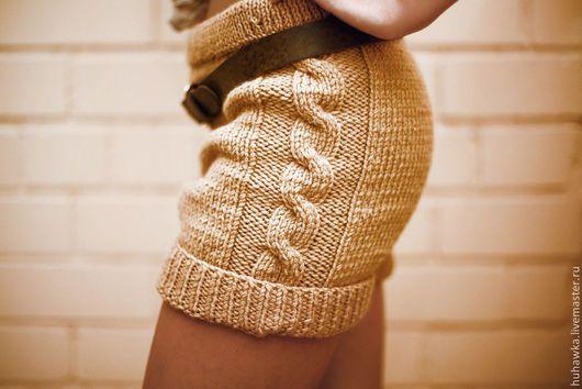 Брюки, шорты ручной работы. Заказать Шорты вязаные женские