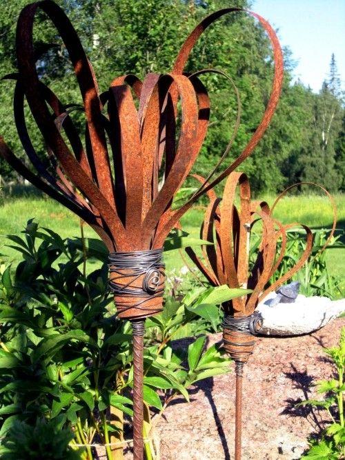 95 rusty garden deco ideas for a charming vintage exterior