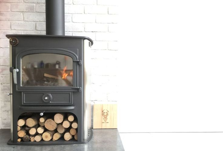 Polished concrete graphite hearth from sand and sawn