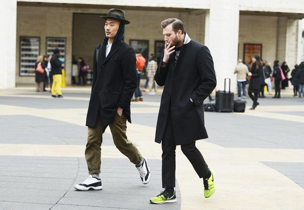 Sneakers not just for street wear