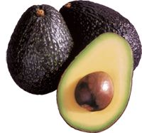 Haas Avocado   Serving Size 1/5 medium (30 g/1 oz.)  Servings Per Container 5  Amount Per Serving  Calories 50  Calories from Fat 35  % Daily Value*  Total Fat  4.5g 7%  Saturated Fat 0.5g 3%  Trans Fat 0g    Polyunsaturated Fat 0.5g    Monounsaturated Fat 3g    Cholesterol 0mg 0%  Sodium  0mg 0%  Potassium 150mg 4%  Total Carbohydrate 3g 1%  Dietary Fiber 2g 8%  Sugars 0g    Protein  0g  Vitamin A 0% • Vitamin C 4%  Calcium 0% • Iron 2%  Vitamin E 4% • Thiamin 2%…