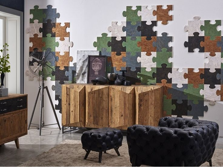 Colorful Cork Puzzle Coverings Will Highlight Your Walls And Interiors You Can Create Anything Of