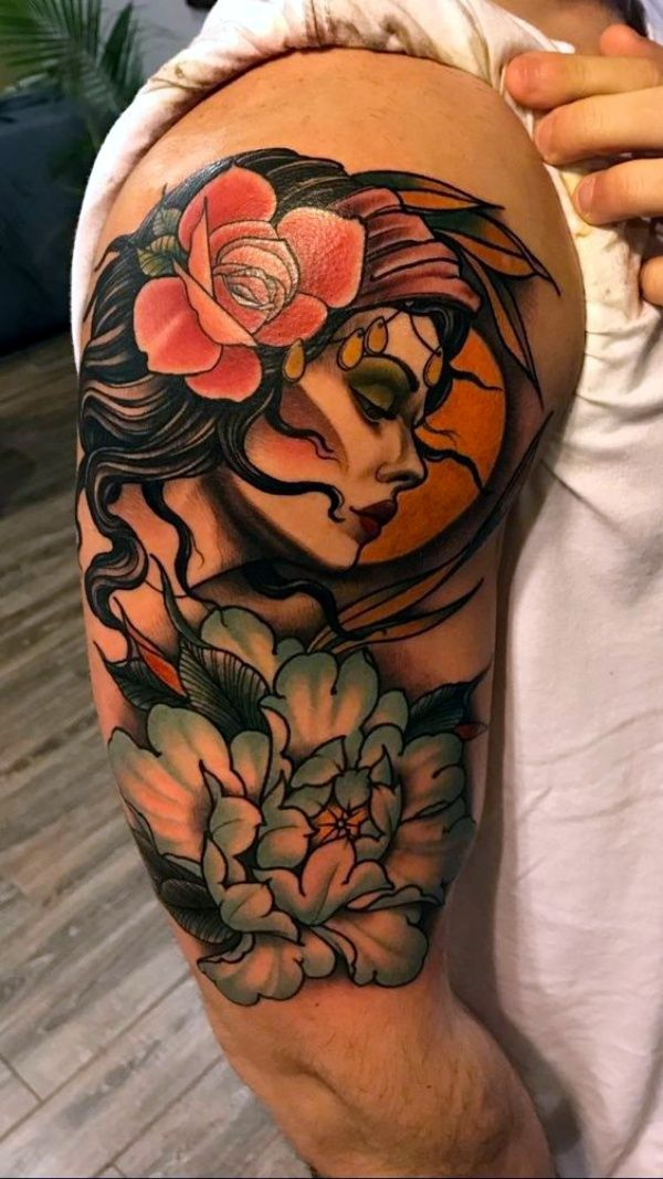 The gypsy way of life is practiced all over the world from Asia to Latin America. These gypsy traditional gypsy tattoo ideas for women are bound to inspire