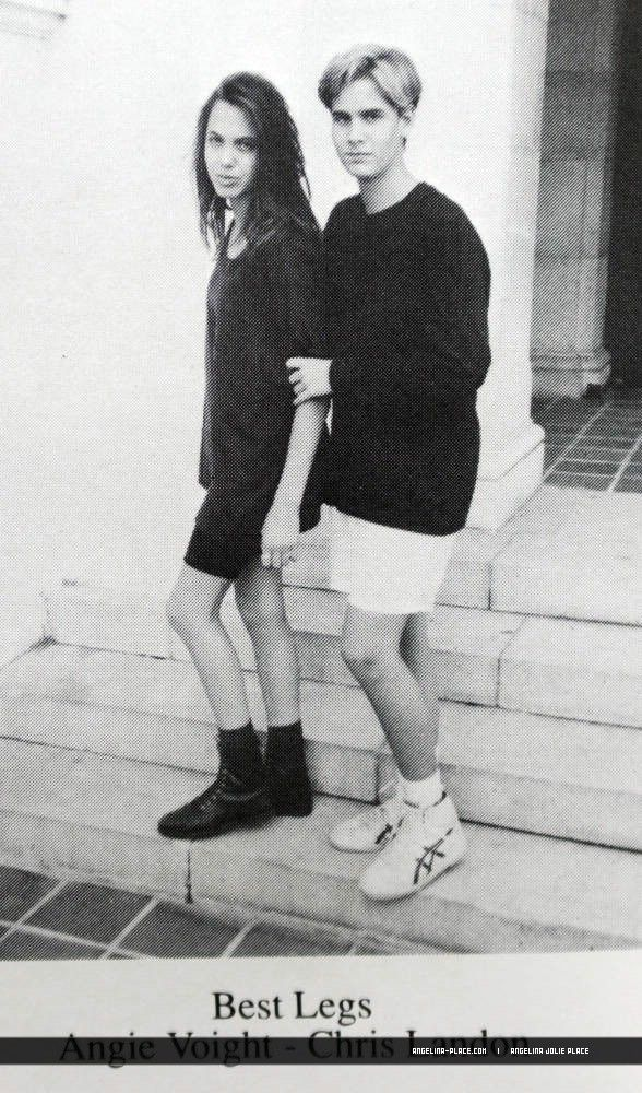 Angelina Jolies young