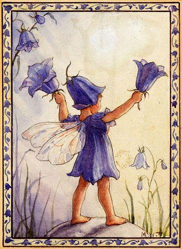 Bluebell fairy - artwork by Margaret Tarrant by sofi01, via Flickr