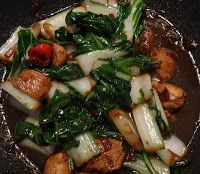 Surinaams eten!: Kipfilet met knapperige paksoi