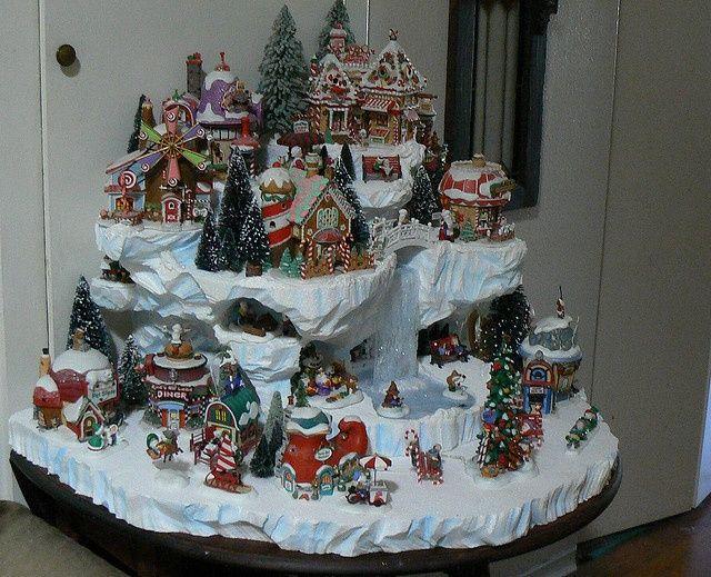 Home Design Image Ideas: lemax christmas village display ideas