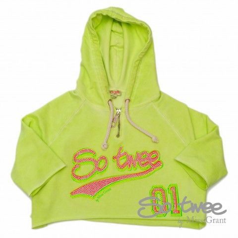 SO TWEE by #missgrant LOOSE SWEATSHIRT WITH HOOD. Sale 50% off Spring&Summer Collection! #discount