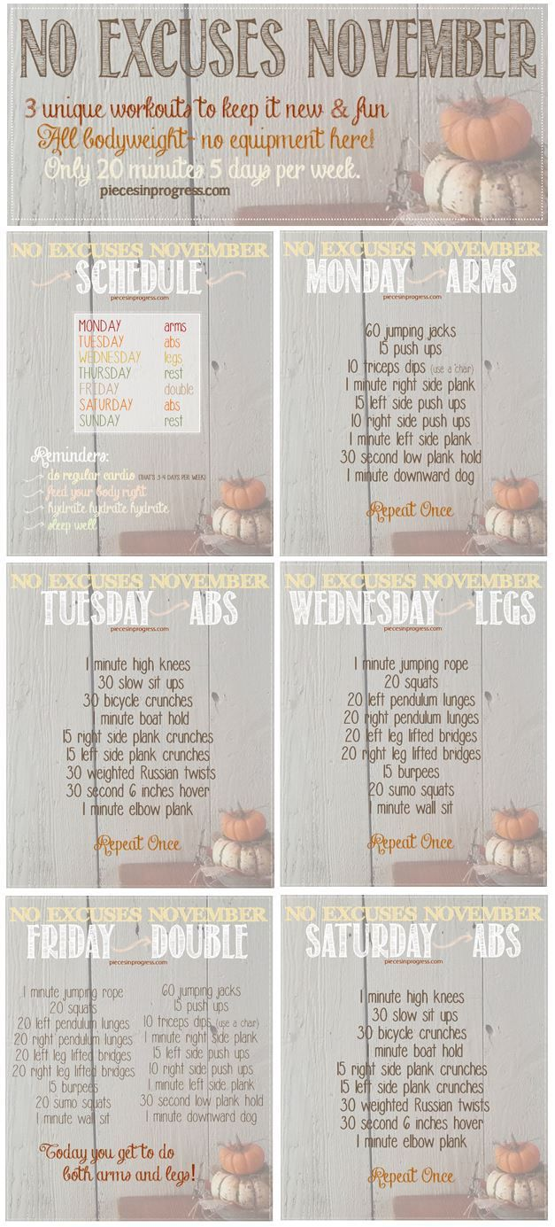 Tone in Twenty Workouts- 5 do anywhere HIIT style plans! #fitness #workoutplans #healthy