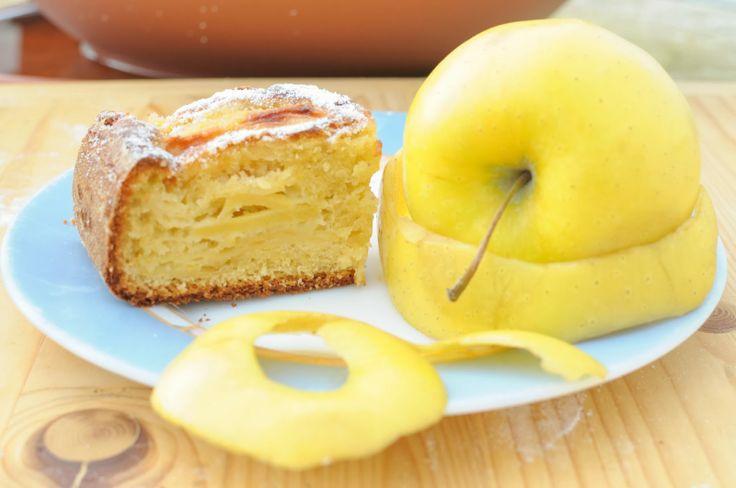 ricetta per una buonissima torta di mele con lo yogurt