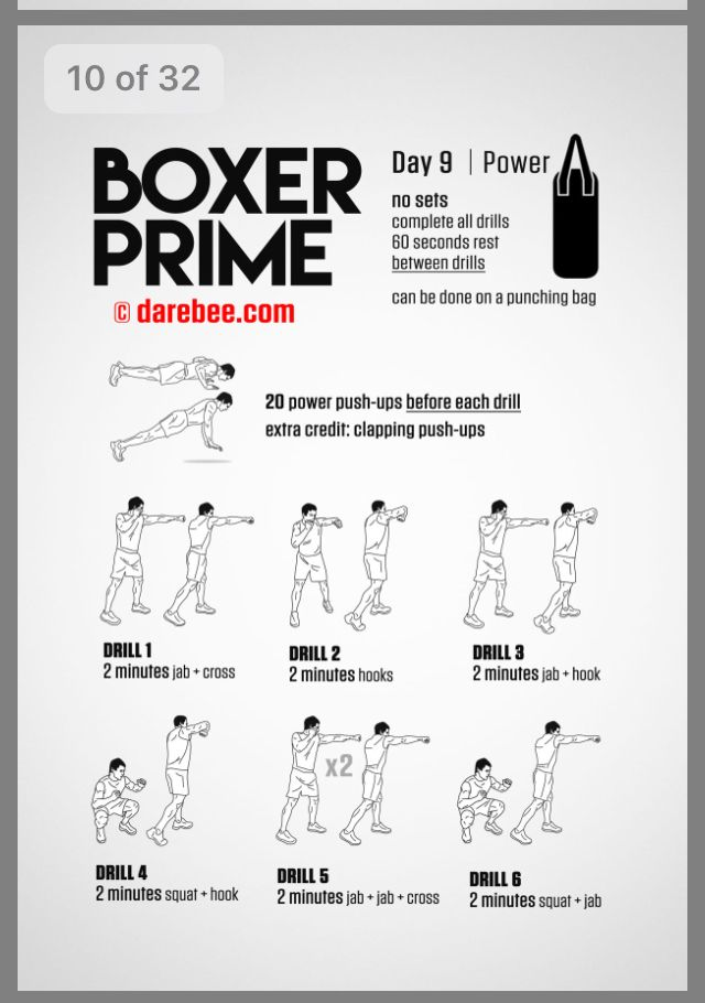 Pin By Jazz Smith On Home Boxing Workout Mma Workout Boxing Training Workout Boxing Workout