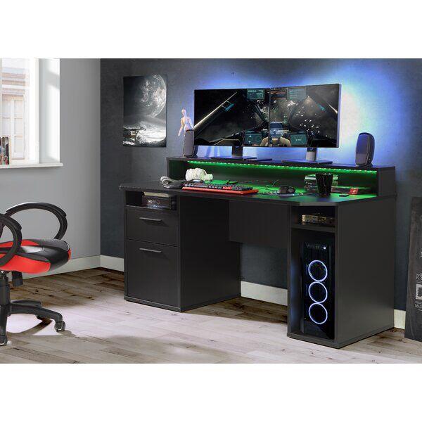 Unyay Computer Desk Computertisch Gamer Tisch Schreibtisch Setup
