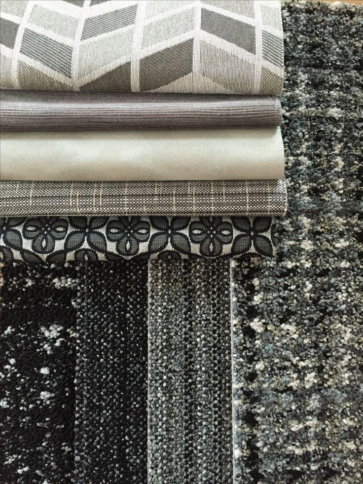 Interface World Woven Moorland Black & White Palette w/ Fabric Coordinates