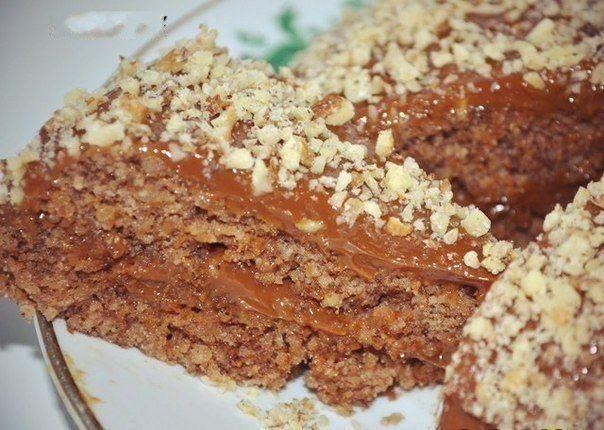 """""""Грильяжик"""" ореховый торт без муки за 10 минут"""