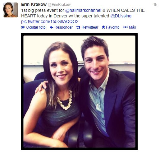 Erin krakow dating in Brisbane