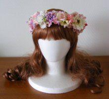 ハワイウェディングに♪ ガーベラ入りのキュートな花冠☆  Ordermade Wedding Flower Item MY FLOWER ♪ まゆこのブログ