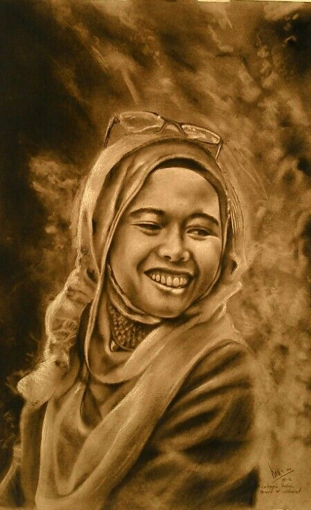 charcoal on paper 79x55cm