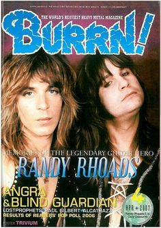 ross halfin randy rhoads | 1000+ images about Rock! on Pinterest | Axl rose, Gilby clarke and ...